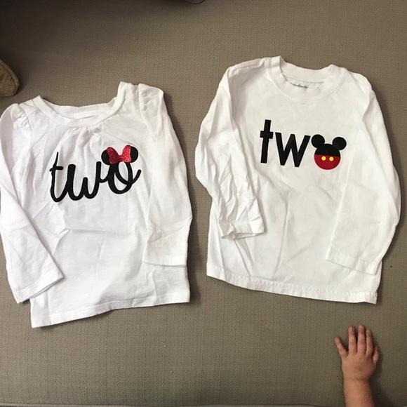 Twins 2 Year Old Birthday Disneyland Shirts M 5b676be81299556453919fea 5b676be9c2e88ef702db12fa 5b676beb477368a8e0852eba 5b676bed74359b6081063b74